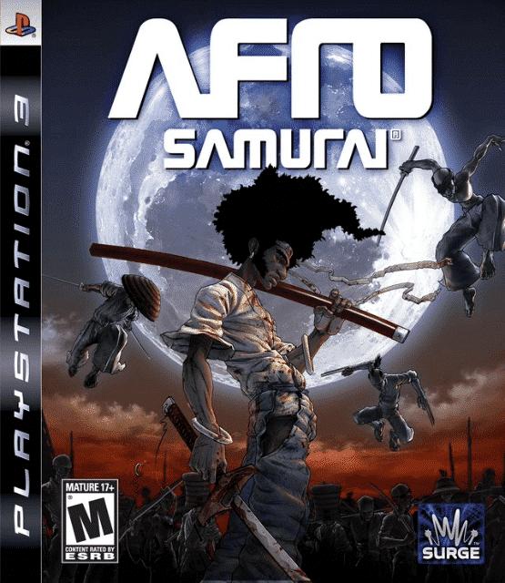 Afro Samurai PS3 (Video Game)