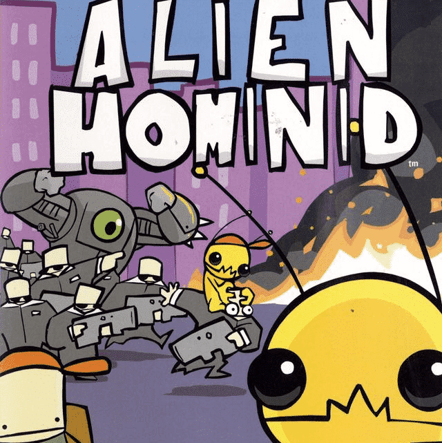 Alien Hominid Nintendo Gamecube