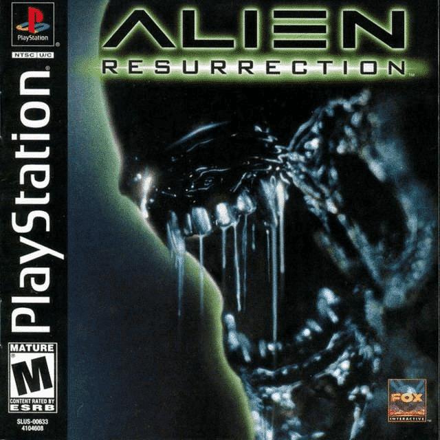 Alien Resurrection Playstation 1