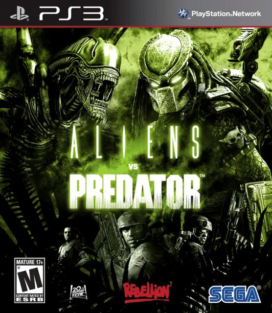 Aliens vs Predator Playstation 3