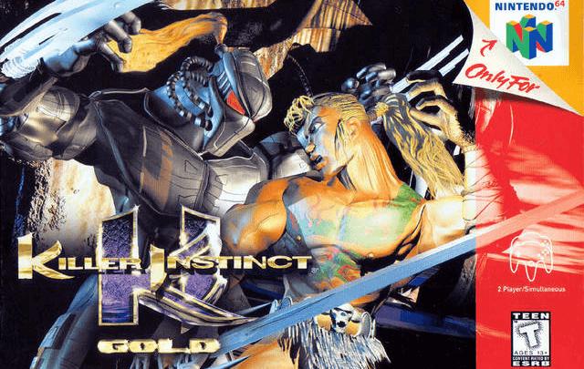 Killer Instinct Gold Nintendo 64