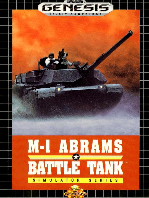 Abrams Battle Tank Mega Drive