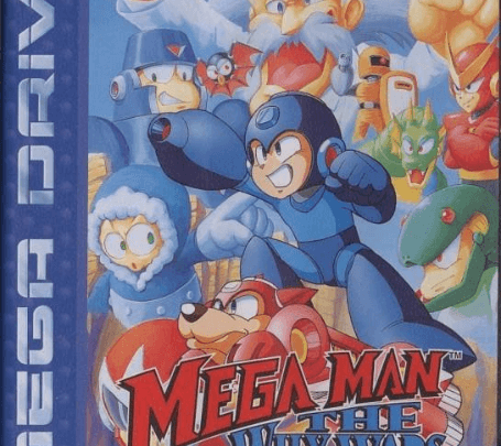 Megaman: The Wily Wars Sega MegaDrive