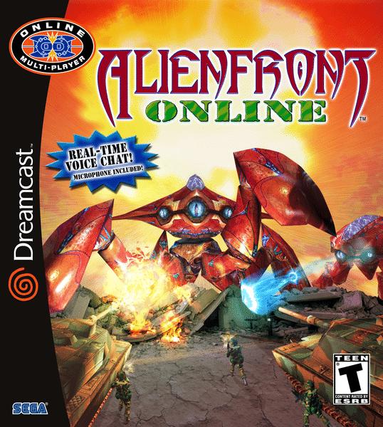 Alien Front Online Dreamcast