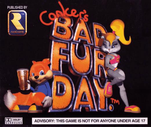 Conker's Bad Fur Day Nintendo 64