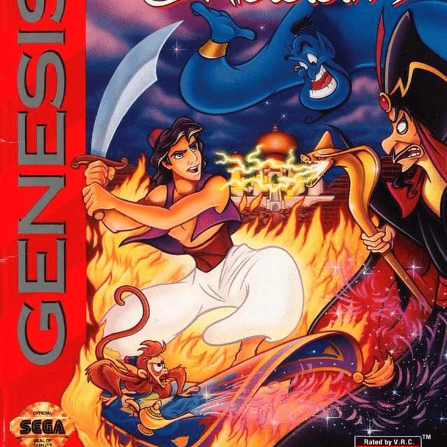 Disney's Aladdin Sega Genesis