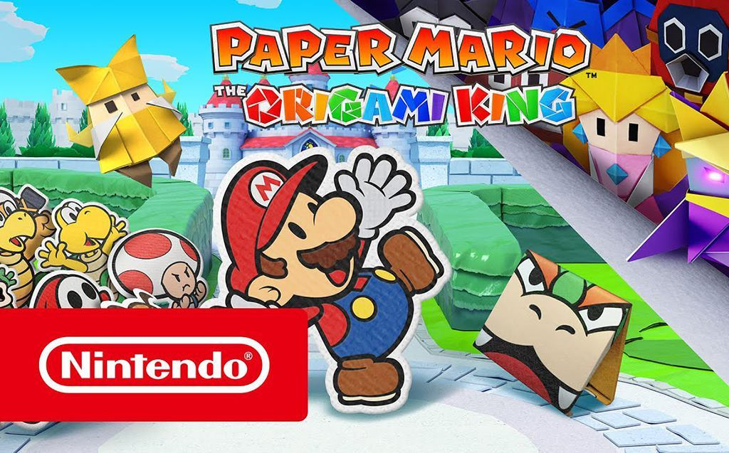 Paper Mario: The Origami King chega a 17 de Julho no Swicht