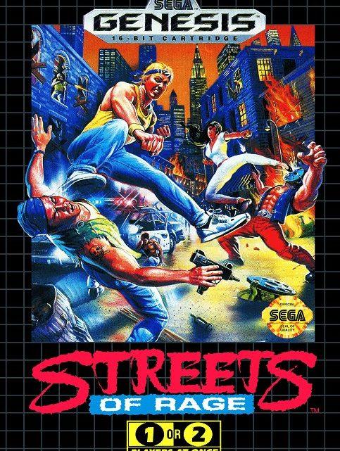 Streets of Rage Sega Megadrive