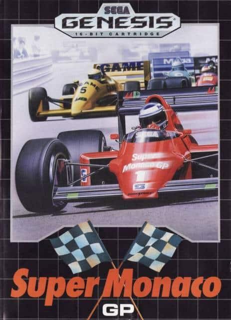 Super Monaco GP MegaDrive