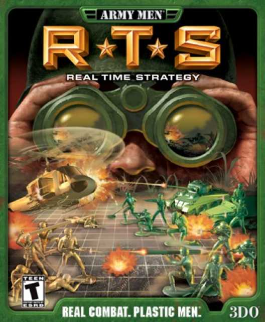 Army Men RTS: Real Time Strategy GAMECUBE