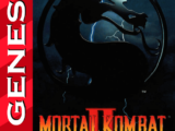 Mortal Kombat II Sega Genesis-cover game!