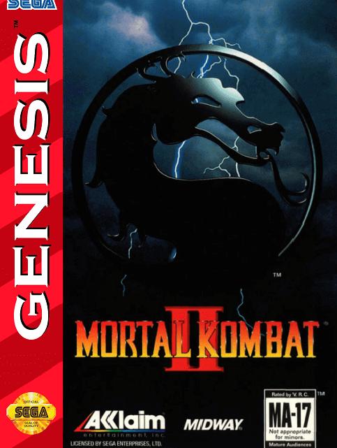 Mortal Kombat II Mega Drive