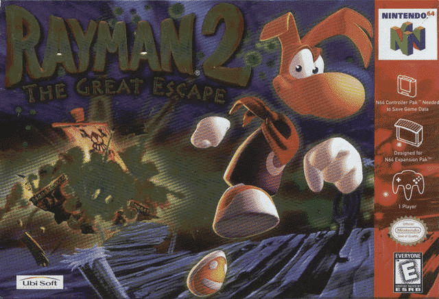 Rayman 2: The Great Escape N64.