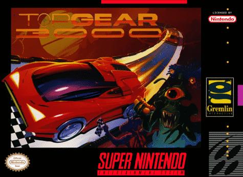 Top Gear 3000 SNES