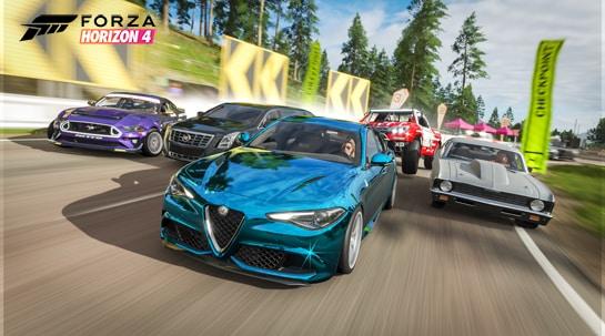 Forza Horizon 4 chegará ao Steam em 9 de março