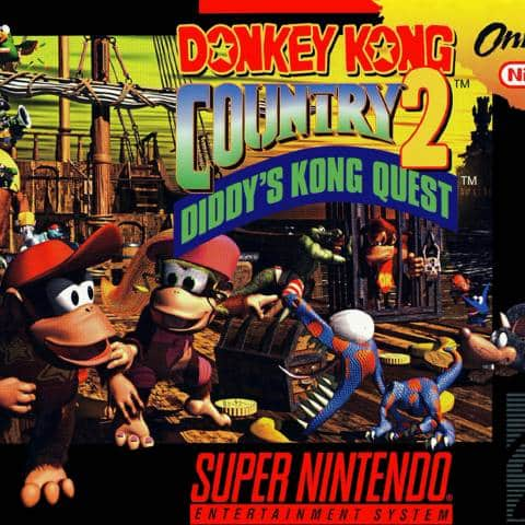Donkey Kong Country 2: Diddy's Kong Quest SNES ROM