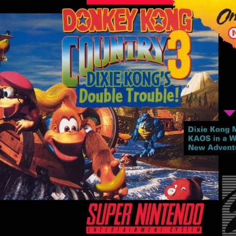 Donkey Kong Country 3: Dixie Kong's Double Trouble SNES ROM