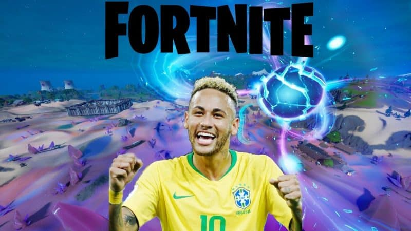 How to drop kick the Soccer Ball Toy 500 meters as Neymar Jr in Fortnite